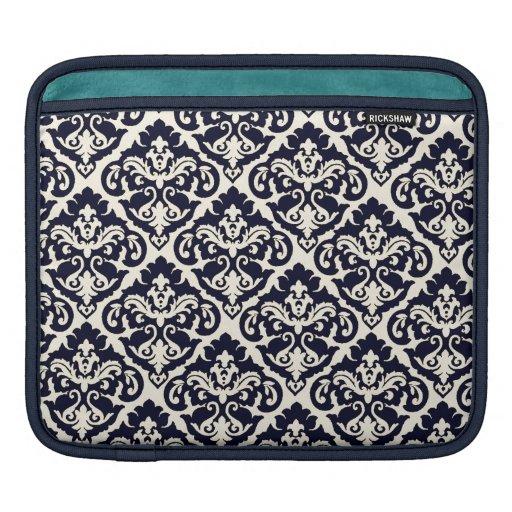 Chic French Damask iPad Sleeve