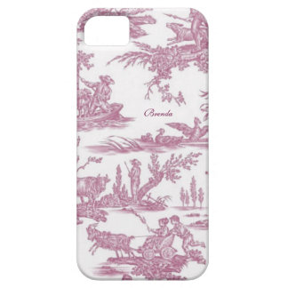 Chic French Toiles Custom iPhone SE/5/5s Case
