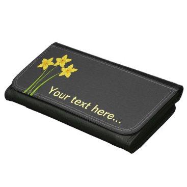 dreamywave Chic Gardener Daffodils Wallet