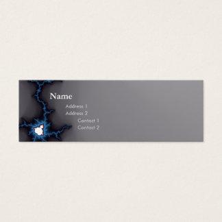 chic geek fractal dark profile card