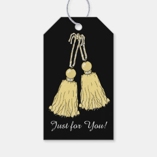 CHIC GIFT TAG_09 BUTTER TASSELS GIFT TAGS