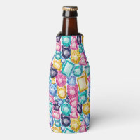 Chic Girly Shiny Diamond Gemstones Bottle Cooler