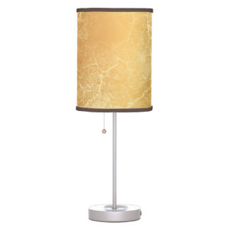 Chic Gold Classic Marble Design Lamp