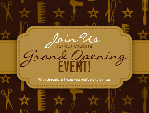 grand opening postcards zazzle