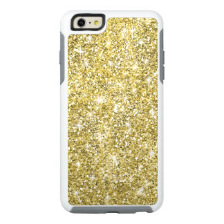 Chic Gold Glitter Otterbox iPhone 6 Plus Case