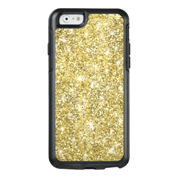Chic Gold Glitter Sparkles Otterbox Iphone 6 Case by girlygirlgraphics at Zazzle