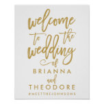 welcome sign, wedding sign, poster, wedding, chic,