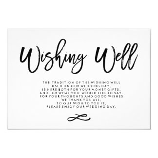 Wedding Wishing Well Invitations & Announcements | Zazzle