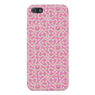 Chic Heart-shaped Daisy Chains, iPhone 5/5s Case