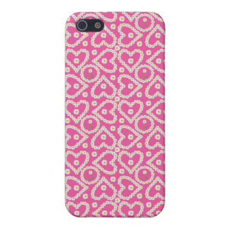 Chic Heart-shaped Daisy Chains, iPhone 5c Case