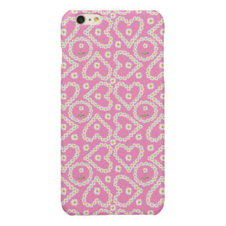 Chic Heart-shaped Daisy Chains, iPhone 6 Plus Case