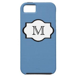 CHIC IPHONE5 CASE   155 BLUE/MONOGRAM