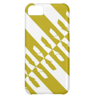"""CHIC IPHONE5 CASE_""""ALL TIED UP"""" 191 YELLOW iPhone 5C CASE"""