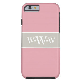 CHIC IPHONE6 CASE_TAUPE/PINK/WHITH TOUGH iPhone 6 CASE