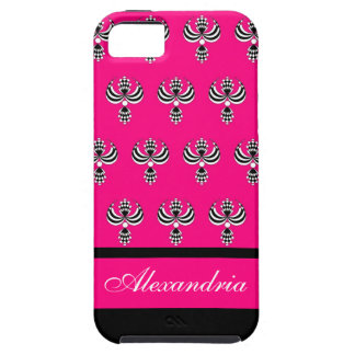CHIC IPHONE 5 VIBE CAS5_ UPTOWN GIRL 230 PINK 4 iPhone 5 CASE