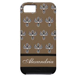CHIC IPHONE 5 VIBE CAS5_ UPTOWN GIRL 38 BROWN 4 iPhone 5 CASES