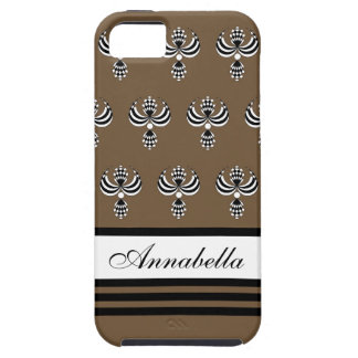 CHIC IPHONE 5 VIBE CASE_ UPTOWN GIRL 38 BROWB 7 iPhone 5 CASES