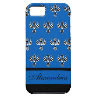CHIC IPHONE 5 VIBE_ UPTOWN GIRL 154 BLUE 4 iPhone 5 COVER