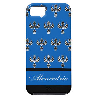 CHIC IPHONE 5 VIBE_ UPTOWN GIRL 154 BLUE 4 iPhone 5 CASES