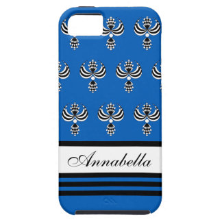 CHIC IPHONE 5 VIBE_ UPTOWN GIRL 154 BLUE 7 iPhone 5 CASE
