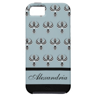 CHIC IPHONE 5 VIBE_ UPTOWN GIRL_162 BLUE 4 iPhone 5 CASES