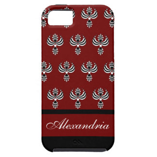 CHIC IPHONE 5 VIBE_ UPTOWN GIRL 18 RED 4 iPhone 5 COVER
