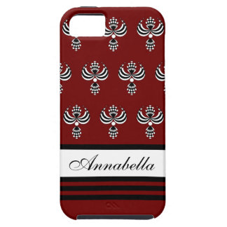 CHIC IPHONE 5 VIBE_ UPTOWN GIRL 18 RED 7 iPhone 5 CASE