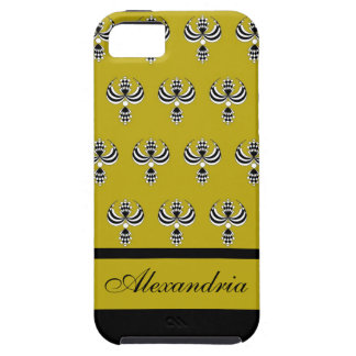 CHIC IPHONE 5 VIBE_ UPTOWN GIRL 191 GOLD 4 iPhone 5 COVER