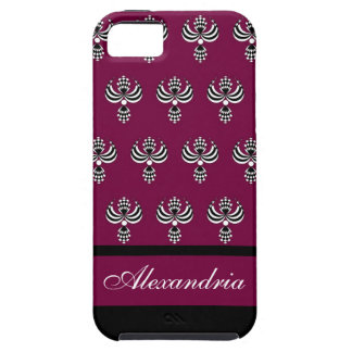 CHIC IPHONE 5 VIBE_ UPTOWN GIRL 238 WINE 4 iPhone 5 COVERS