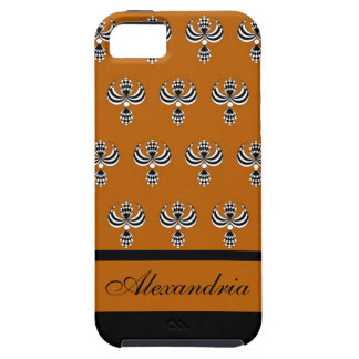 CHIC IPHONE 5 VIBE_ UPTOWN GIRL 32 ORANGE 4 iPhone 5 COVERS