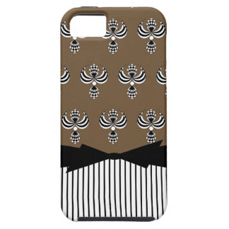 CHIC IPHONE 5 VIBE_ UPTOWN GIRL_ 38 BROWN 2 iPhone 5 COVER