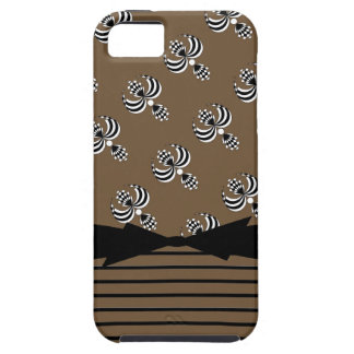 CHIC IPHONE 5 VIBE_ UPTOWN GIRL_38 BROWN 6 iPhone 5 CASE