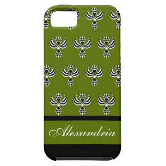 CHIC IPHONE 5 VIBE_ UPTOWN GIRL 68 GREEN 4 iPhone 5 COVER