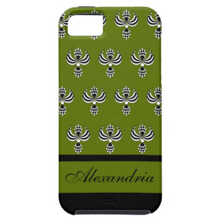 CHIC IPHONE 5 VIBE_ UPTOWN GIRL 68 GREEN 4 iPhone 5 CASES