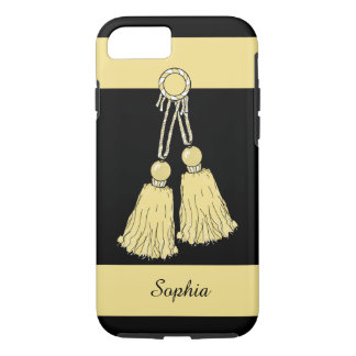 CHIC iPhone 7 CASE_BUTTER TASSELS/STRIPES iPhone 7 Case