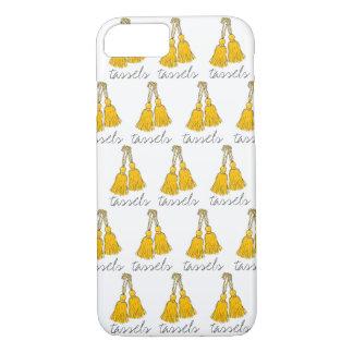 "CHIC iPhone 7 CASE_""tassels"" 86 MERIGOLD TASSELS iPhone 7 Case"