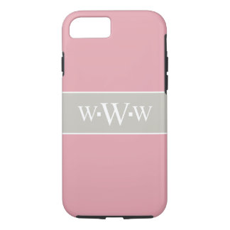 CHIC iPhone 7 CASE_TAUPE/PINK/WHITH iPhone 7 Case