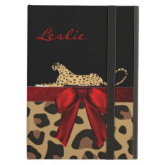 Chic Jaguar Ipad Air Case Stand at Zazzle