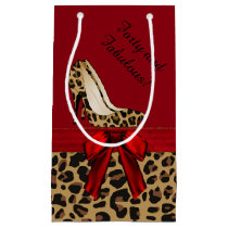 Chic Jaguar Stilettos Custom Gift Bag