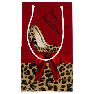 Chic Jaguar Stilettos Custom Gift Bag