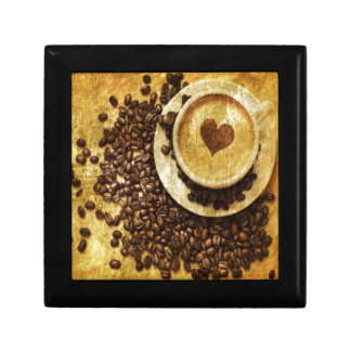 Chic Java cappuccino Coffee Beans Coffee Lover Gift Box