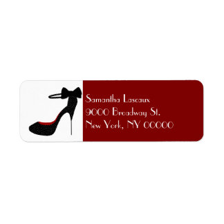 Chic Ladies Stiletto High Heel Custom Label