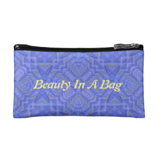 "Chic Lavender ""Date Night Beauty In A Bag"" Makeup Bag"