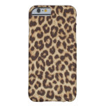 Chic Leopard iPhone ID Case Barely There iPhone 6 Case