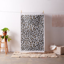 Chic Leopard print customize pattern Fabric