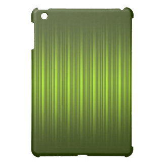 Chic Lime Green Stripe Pern Case For The iPad Mini