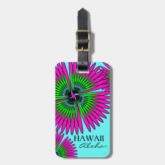 CHIC LUGGAGE/GIFT TAG_HAWAII_TROPICAL FLOWERS TAGS FOR BAGS