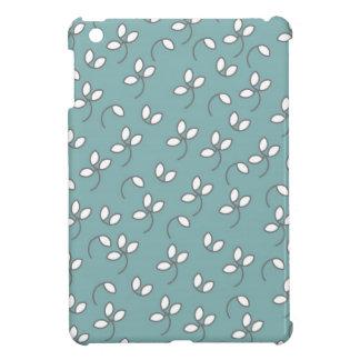 CHIC MINI IPAD CASE_132 SEAFOAM/WHITE/GRAY FLORAL iPad MINI CASE