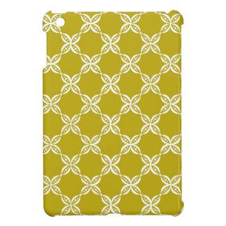 CHIC MINI IPAD CASE_191 YELLOW/WHITE FLOWER PODS COVER FOR THE iPad MINI