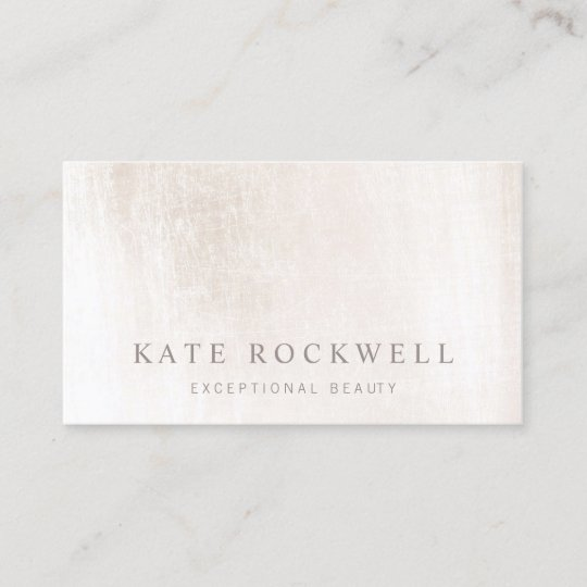 Chic minimalist ivory white stone business card zazzle chic minimalist ivory white stone business card reheart Images